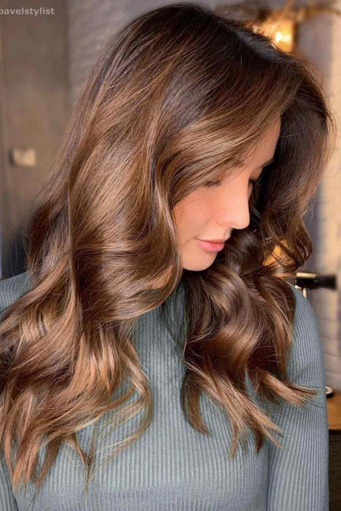 Golden Bronze Hair Color