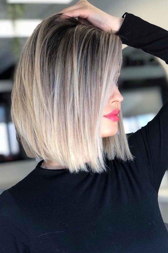 Balayage Blonde Hair Color