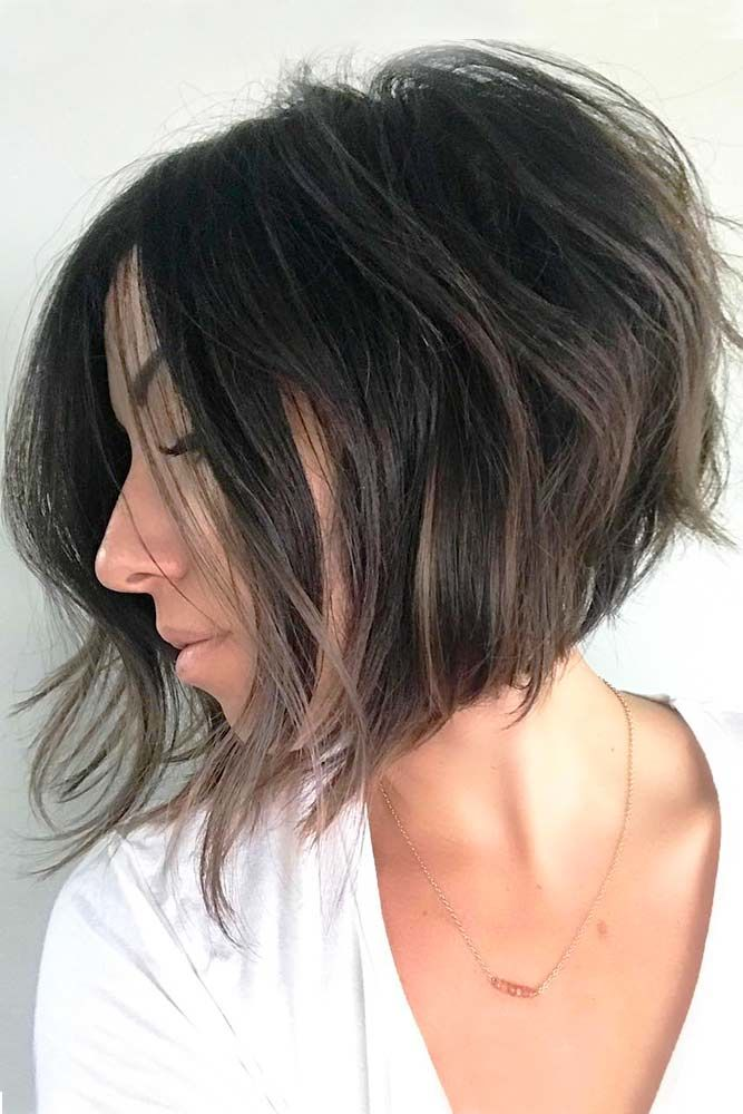 Textured Hairstyles For Inverted Bobs