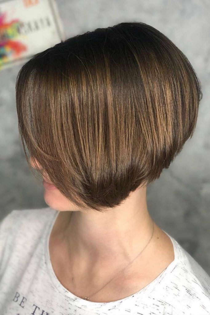 Rounded Bob With V-Cut Layers