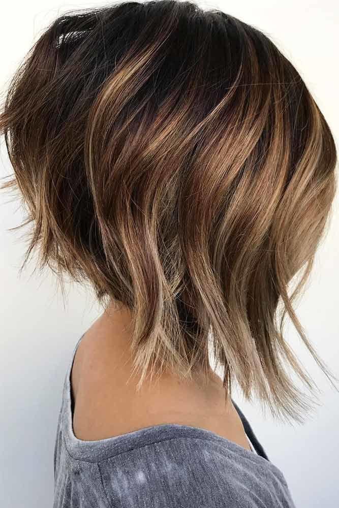 Silky Bob Hair Style