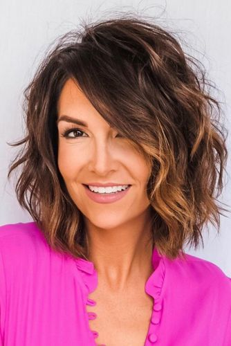 Popular Bob Hairstyles: Wavy + Ombre + Layers