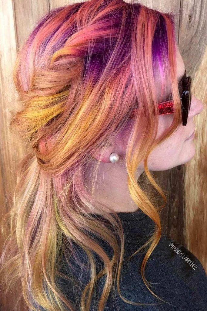 Dusty Sunset Hair Style