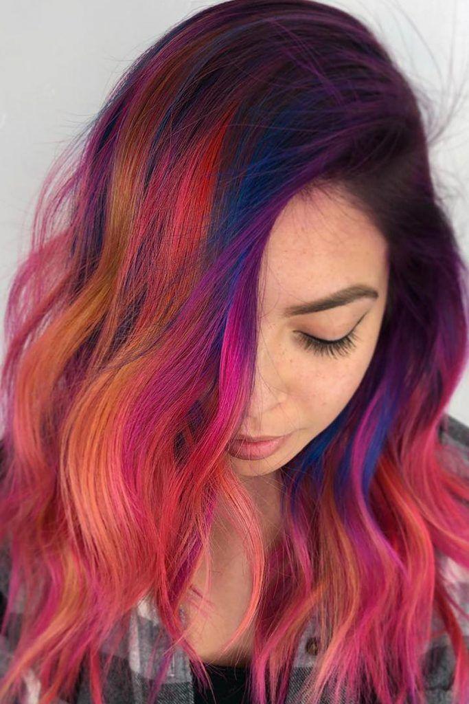 Sunset Hair Vibes