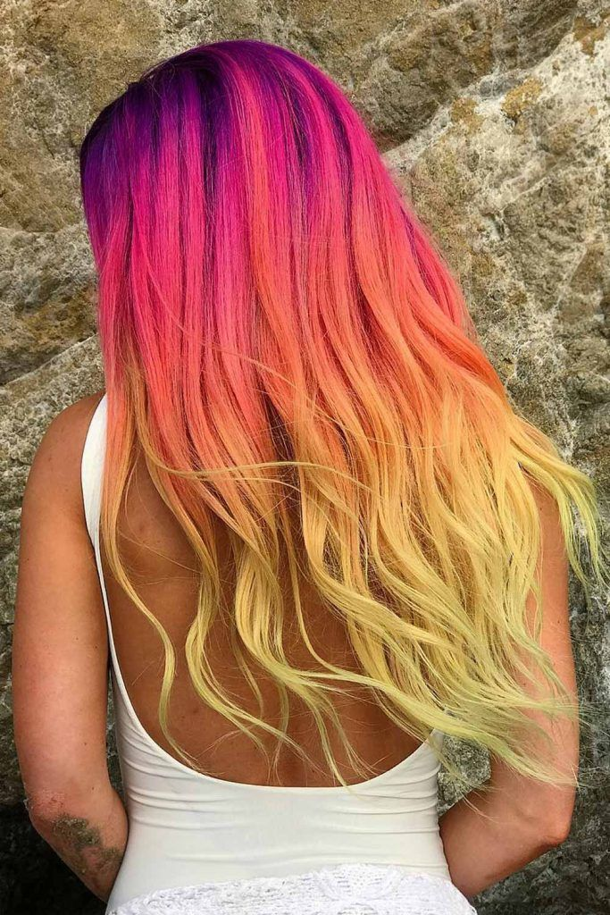 Ombre Sunset Hair