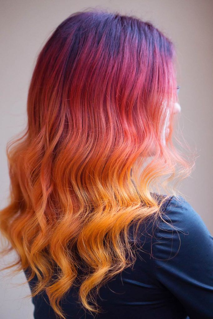 Tips for Keeping Your Sunset Hair Color Bright