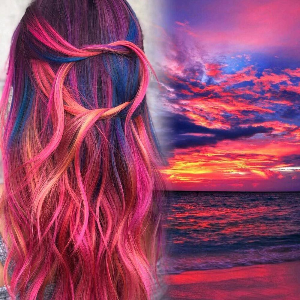 What Is The Sunset Hair