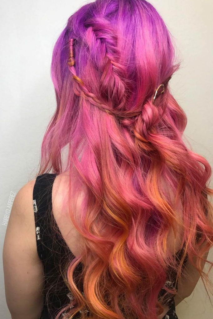 How To Get Sunset Hair Look?