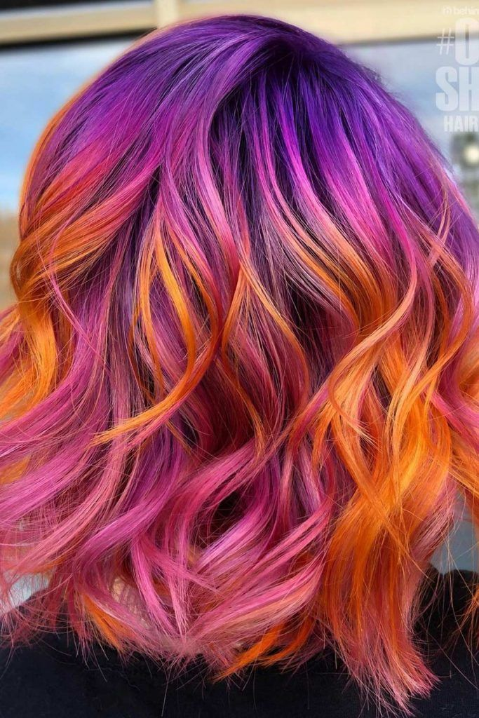 The Most Awe-inspiring Sunset Hairstyle ideas