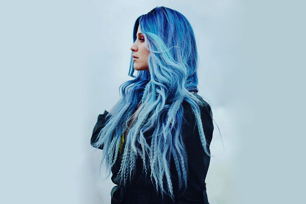 Periwinkle Hair Color Trend And How To Keep Up With It
