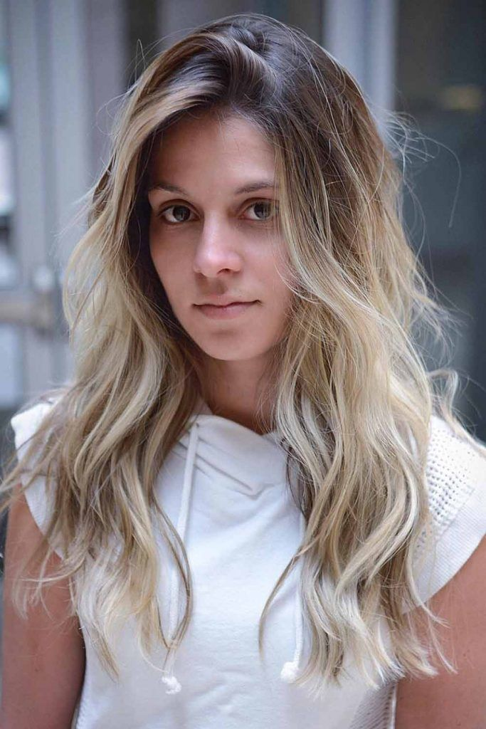 Blonde And Brown Balayage Ideas