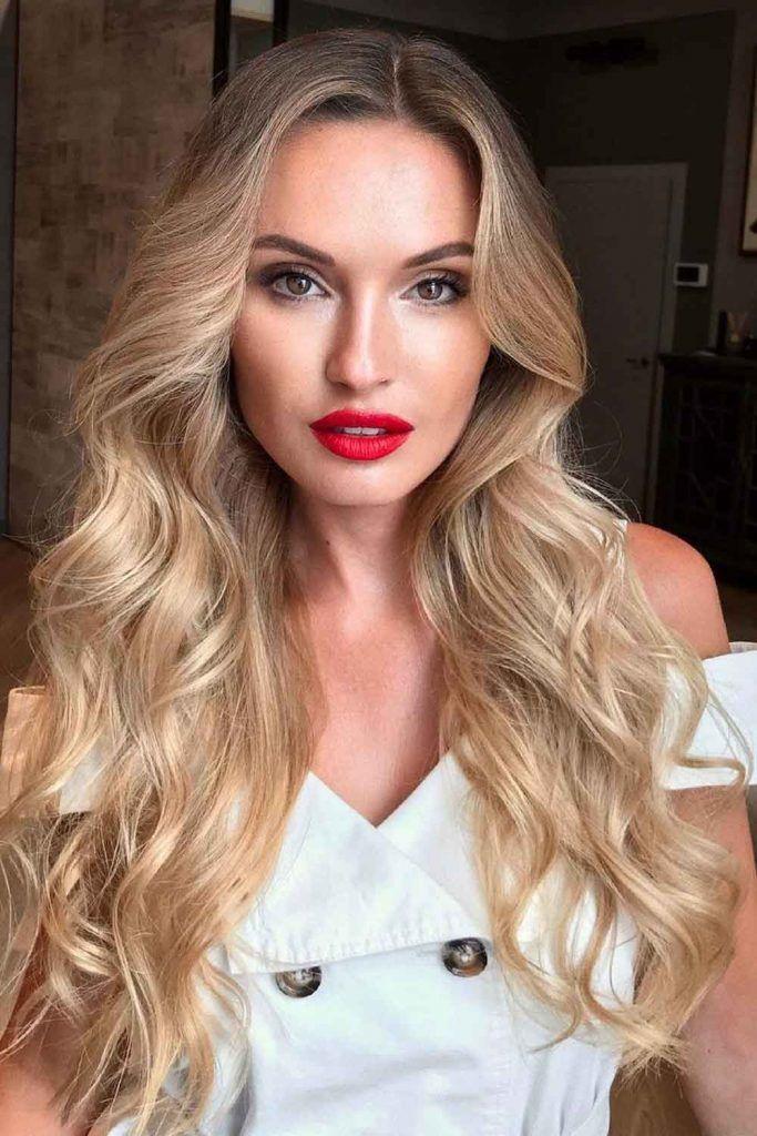 Vampy Dark Blonde Hair