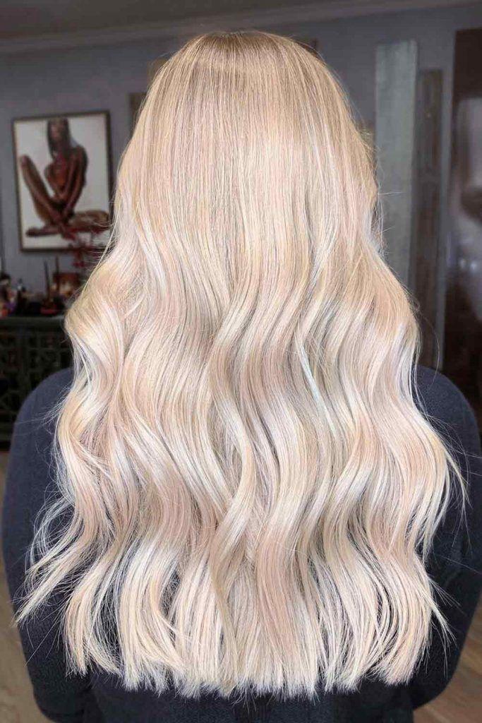 Interesting Ash Blonde Hair Color