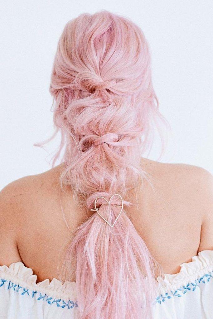 Messy Bubble Hair