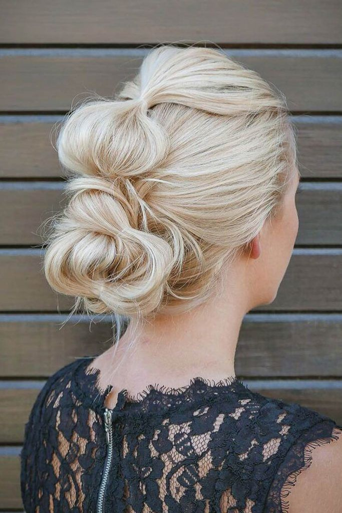 Bubble Updo Hairstyle