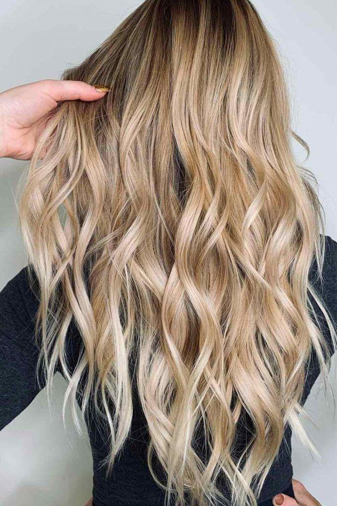 Blonde Long Waves
