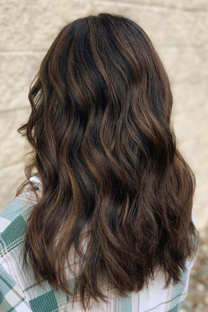 Long Brown Hair Style