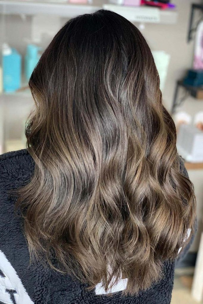 Deep Brown Hair Colors For  Long Hair