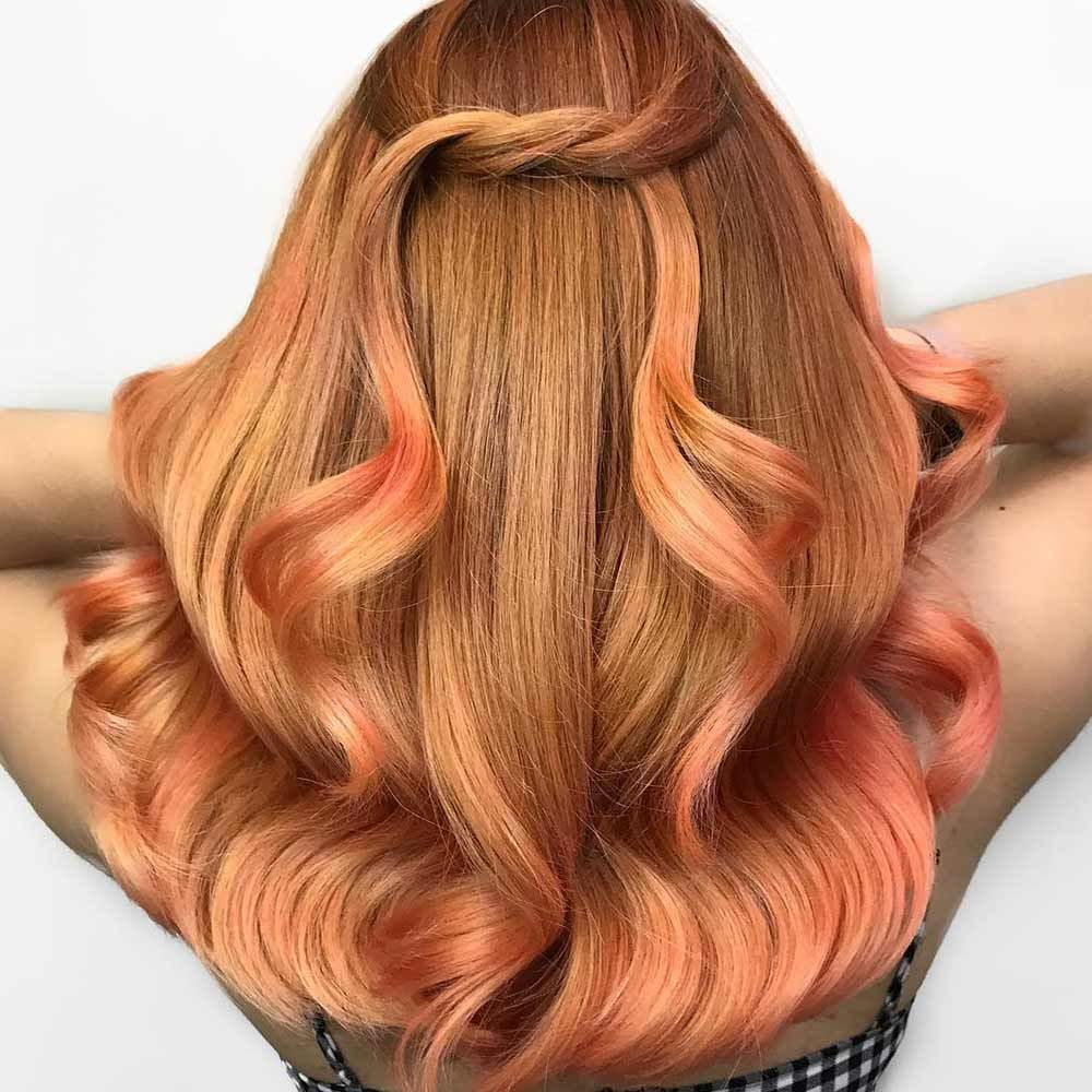 Saturated Strawberry Blonde