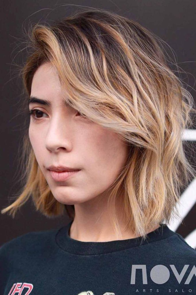 Blunt Lob With Highlights