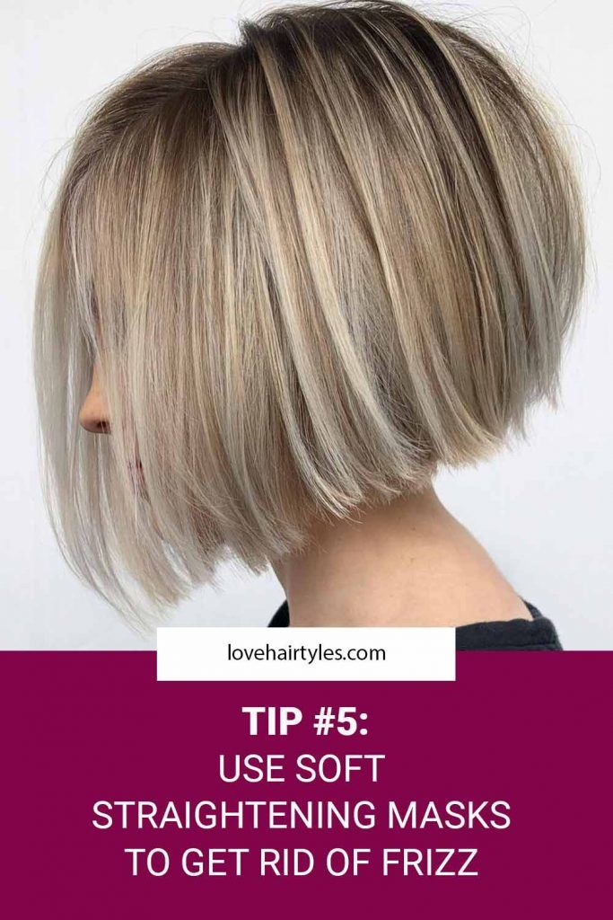 Use A Straightening Mask
