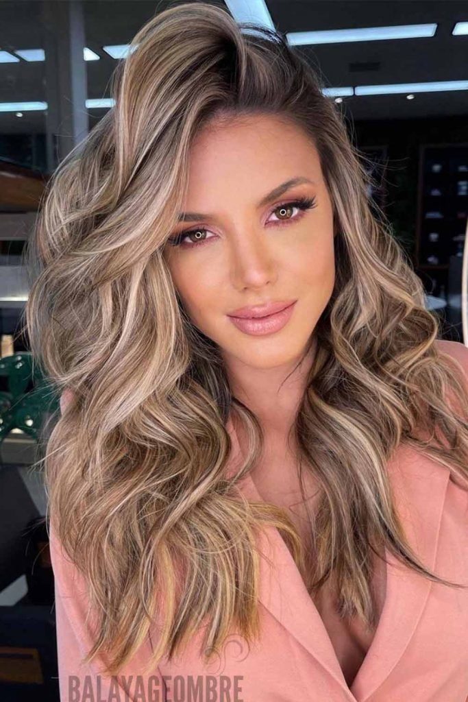New Brunette Trend With Balayage