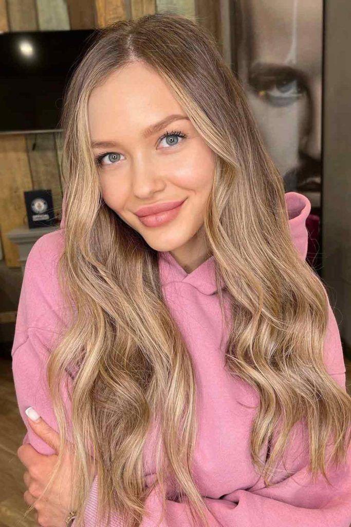 Creamy Blonde Hair