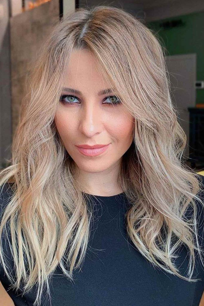 Light Ash Brown With Blonde Highlights