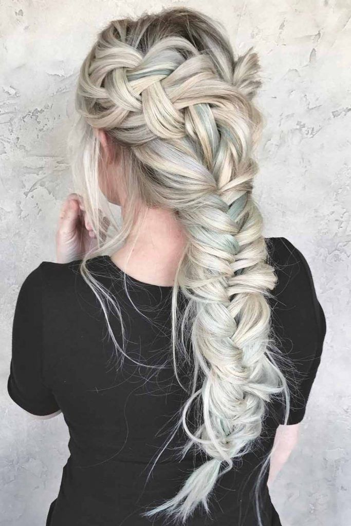 Gorgeous Double French Braids