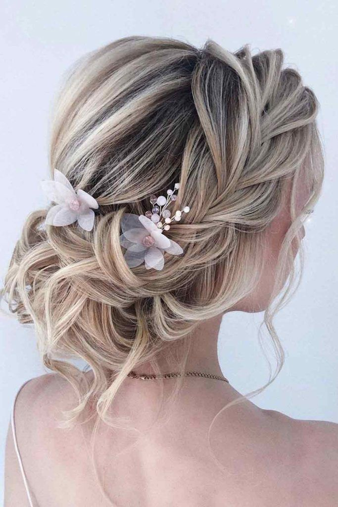 Classic Updos With Accessories