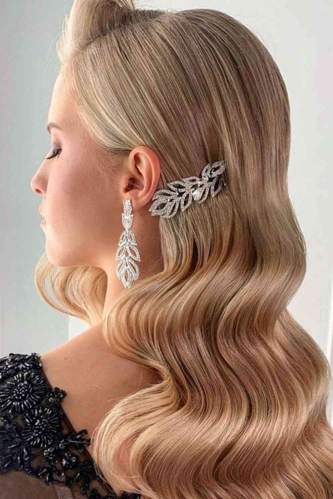 Accessorized Hollywood Waves