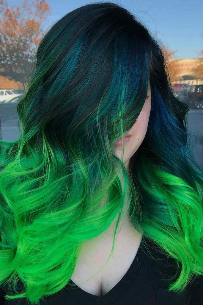 Icy Green Princess Curls