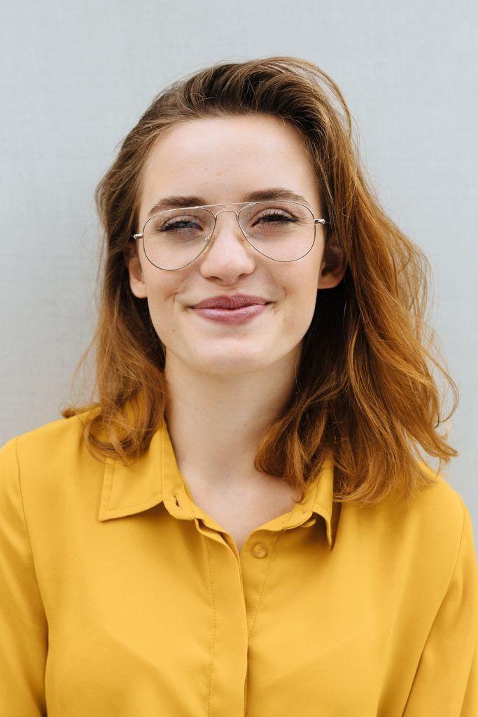 Collarbone Length Women Haircut