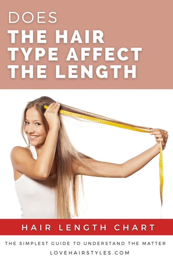 Does the Hair Type Affect the Length?