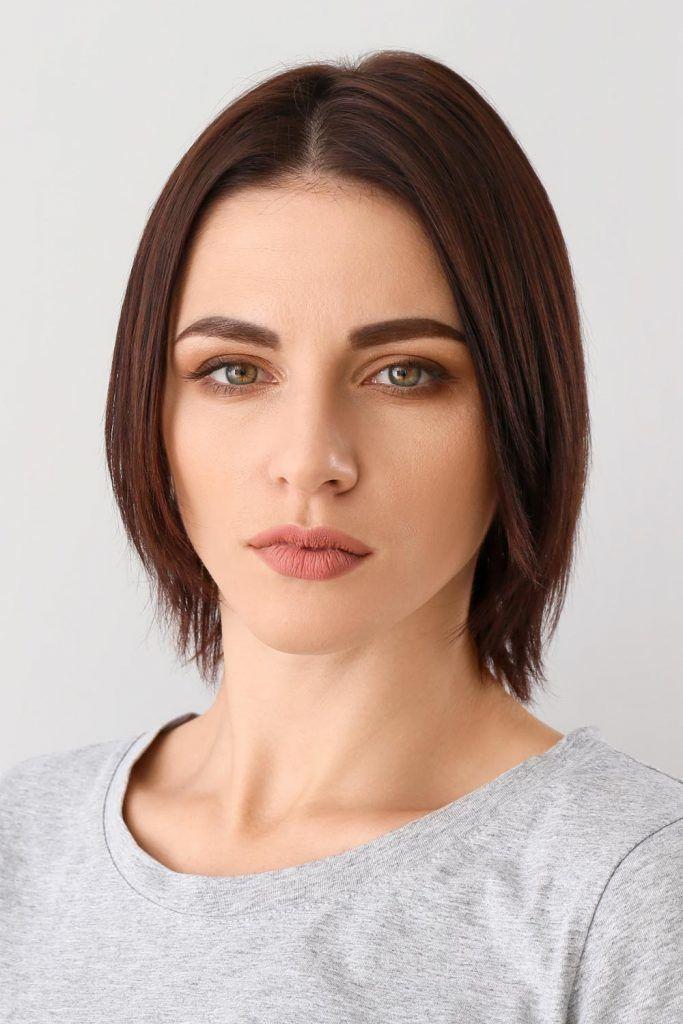 Neck Length Haircut for Women