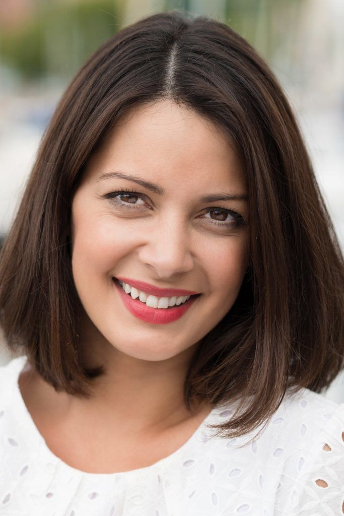 Shoulder Length Hair Women Haircut