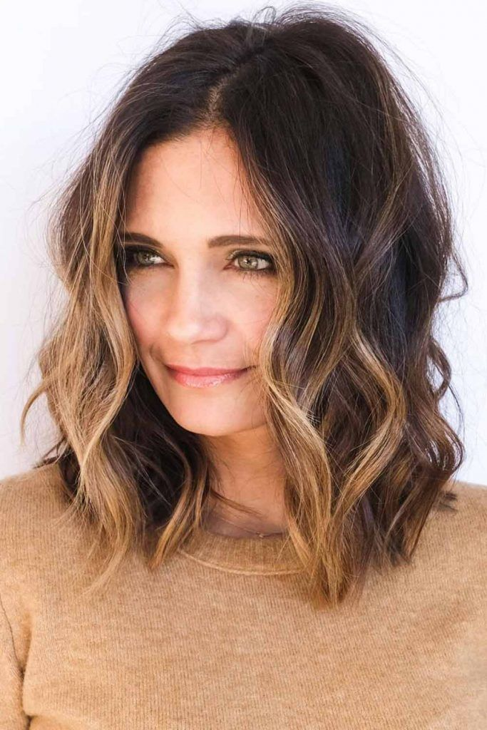 Touch Of Balayage For Medium Hair