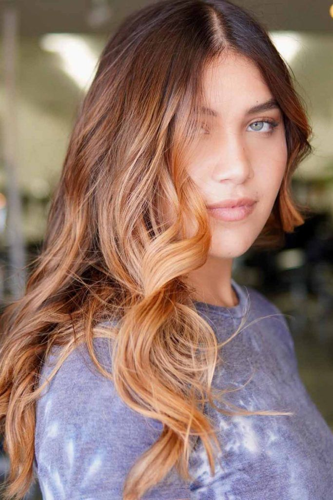 Bronze Highlights For Natural Brown Hair