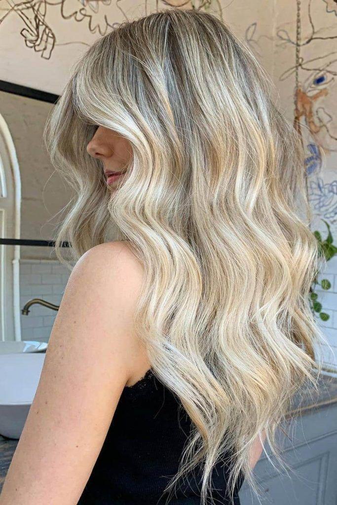 Most Popular Hair Highlight Types: Blonde Balayage Highlights