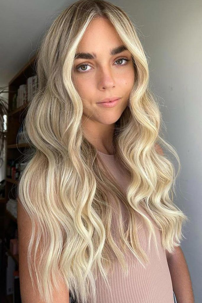 Face-Framing Blonde Hair With Highlights
