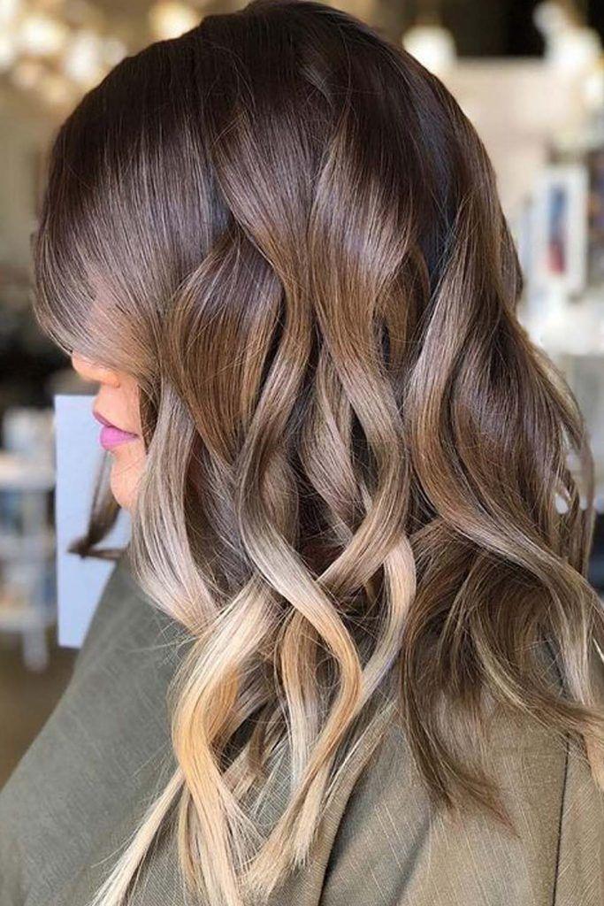 Partial Highlights For Dark Brown Hair