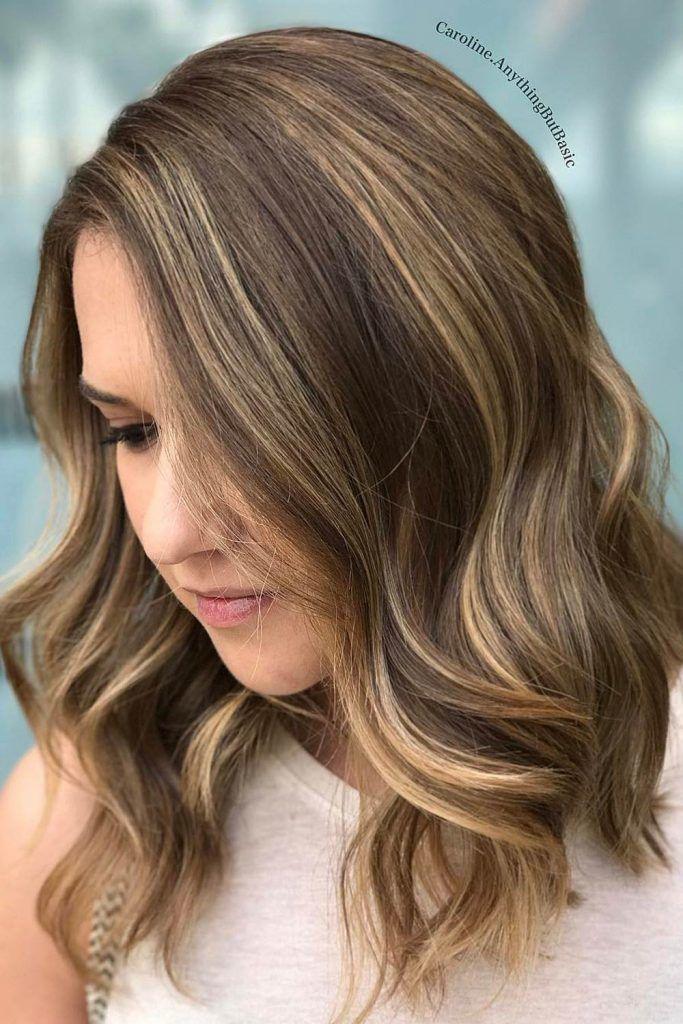 Most Popular Hair Highlight Types: Light Brown Babylights
