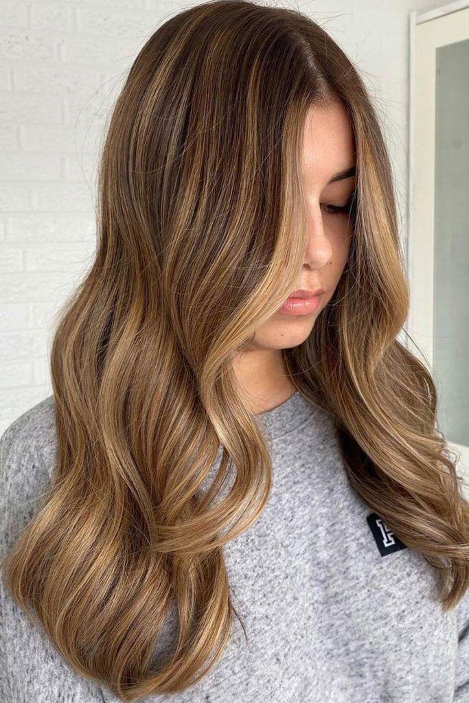 Most Popular Hair Highlight Types: Light Brown Lowlights