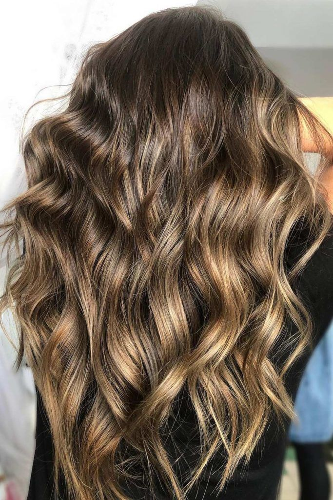 Most Popular Hair Highlight Types: Melting Balayage Highlights