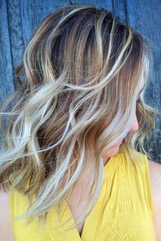 Most Popular Hair Highlight Types: Partial Highlights