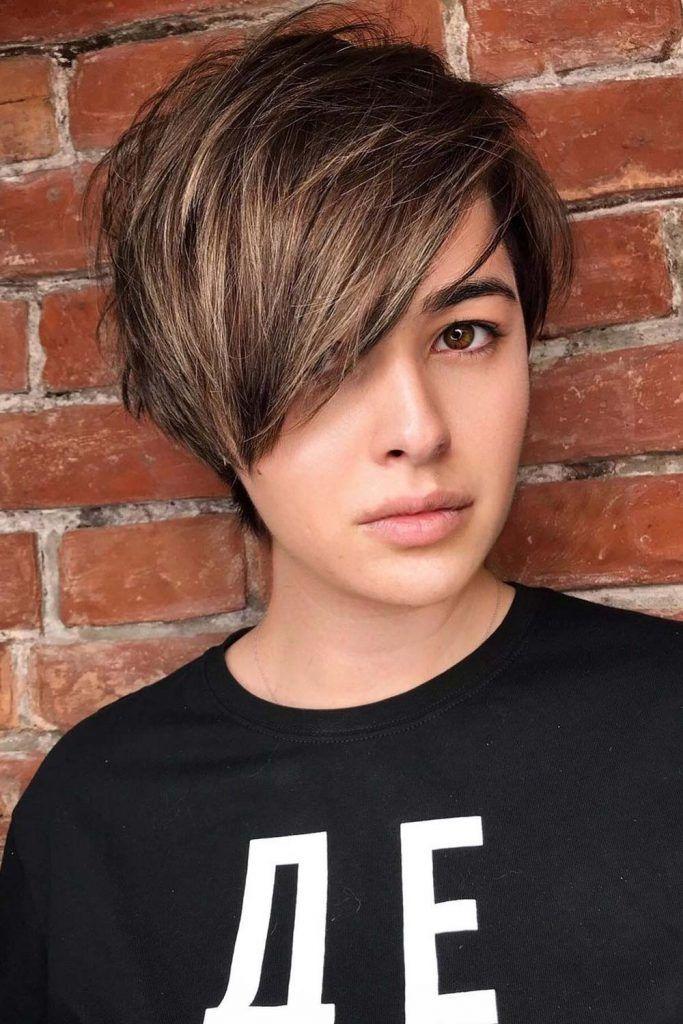Most Popular Hair Highlight Types: Partial Highlights for Short Hair