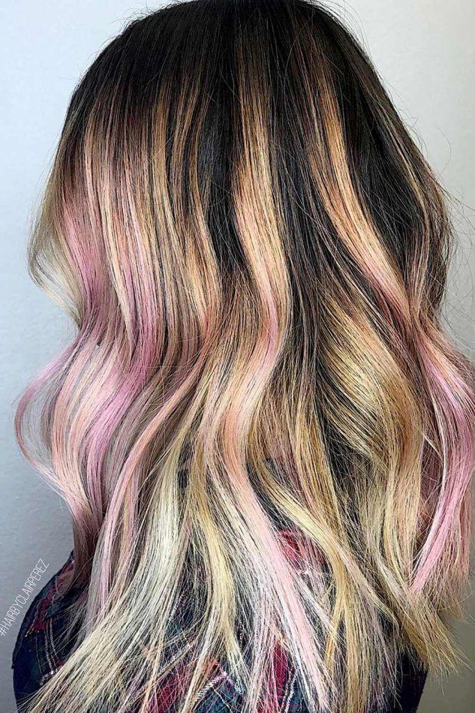 Most Popular Hair Highlight Types: Chunky Highlights