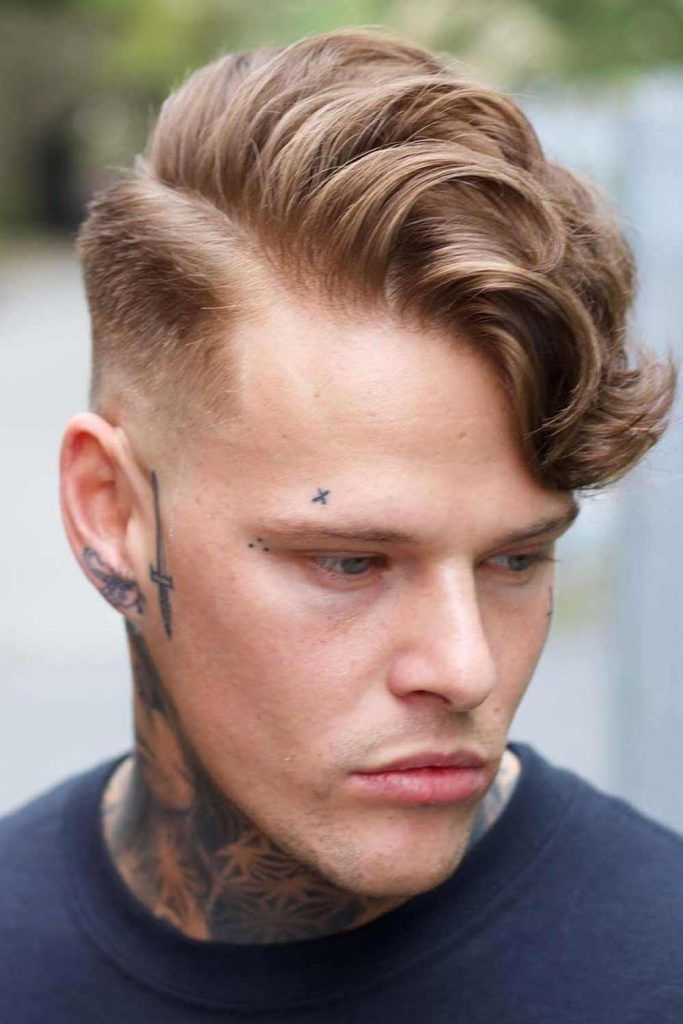 Side-Swept Haircut