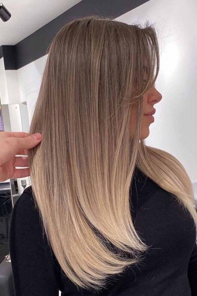 Blonde Balayage For Natural Look