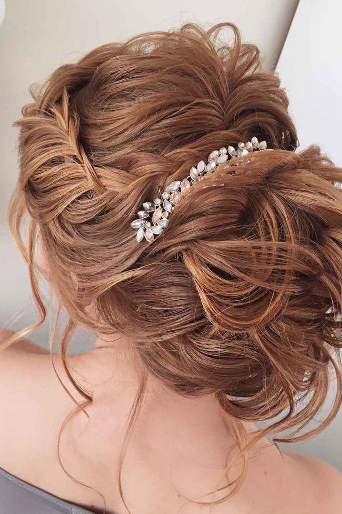 Updo Waterfall Braids Hairstyles